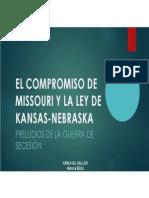 Unidad 5 El Compromiso Misuri y la Ley Kansas - Karla Gil Gallón