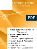 Project on Real Estate Market in Bhiwandi &