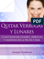 Manual Quitar Verrugas y Lunares