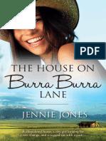 The House On Burra Burra Laneby Jennie Jones - Chapter Sampler