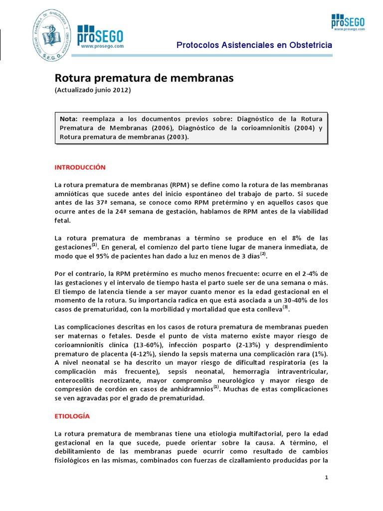 Actualizacion Rotura+Prematura+de+Membranas 2012 SEGO