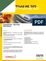 Chrysofluid ME505