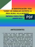Presentacion a Comunidades Ei -Tesa Embalses D-11 Vm