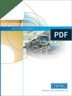 Tefsa Belt Filter Presses Brochure