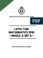 Modul Spm Set 8 (Latih Tubi)