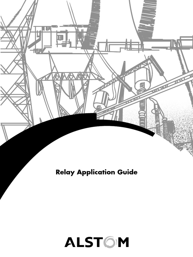 Relay application guide areva relay electrical substation swarovskicordoba Image collections