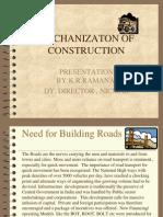 Mechanization of Construction