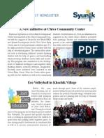 Syunik NGO Newsletter 14