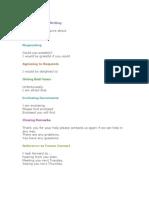 Business Letter Format Tips