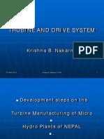 1 Selection Criteria for Turbine and Drive Krishna B. Nakarmi
