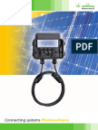 Connecting Systems Photovoltaics