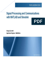 Signal Processing and Communications