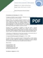 História do Liberalismo no Brasil
