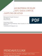 Pemodelan Baterai Nuklir Sebagai Catu Daya Untuk Jantung_final
