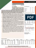 Cement Sector Update- Dealer Interaction- Centrum 121213