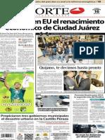 Periódico Norte de Ciudad Juarez 16 de Diciembre de 2013