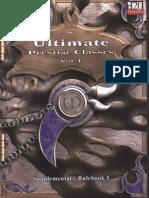 MGP9001 - 3E Ultimate Prestige Classes I, Supplementary Rulebook I