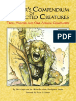 SKPE0920 - 3.5E Cooper's Compendium of Corrected Creatures Troll Hunter and Owl Animal Companion