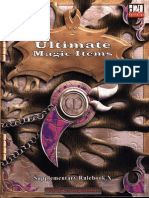 MGP9010 - 3.5E Ultimate Magic Items, Supplementary Rulebook X