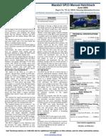 2004 Mazda sp23 review