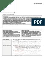 EDCI301 Lesson Plan 1