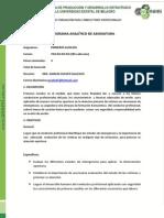 Programa Analitico de p. Auxl. Ecunemi
