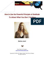 Use Gratitude to Attract