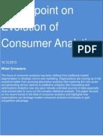 Evolution of Consumer Analytics