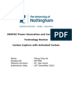 Activated Carbon Carbon Capture Technology Review