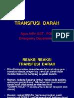 TRANSFUSI  DARAH.ppt