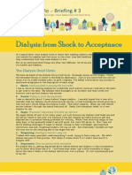 3. Dialysis - From Shock to Acceptance