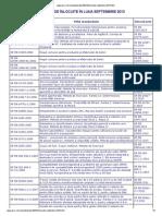Standarde inlocuite septembrie 2013