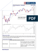 Weekly Market, Sectoral and Stock Perspective- Technicals - 14 Dec 2013