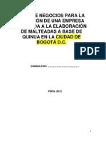 Entrega de Quinua
