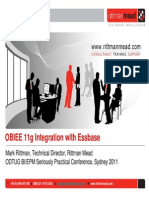 OBIEE Integration With Essbase