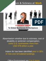 Absenteeism & Sickness at Work