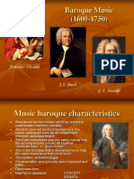 10. Baroque Music