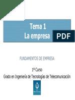 T1 La Empresa