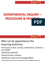 1.9A- Departmental Inquiry %96 Procedure & Practice- PPT