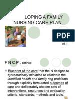 Developing a Family Nursing Care Plan