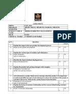 Assignment Marketing Management MB0046 Fall 2013