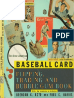 Baseball Card Flipping Trading & Bubble Gum Book
