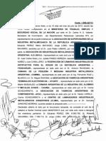 Acuerdo Asimra 2013