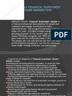 Australia Financial Investment Adviser Immigration