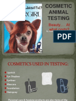 Powerpoint Animal Testing