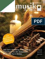 Blasmusik in Tirol - Ausgabe 4 / 2013