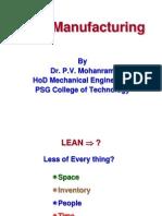 Lean Manufacturing & VSM