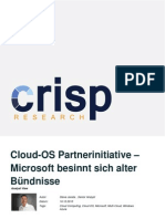Cloud-OS Partnerinitiative - Microsoft besinnt sich alter Bündnisse