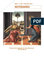 Notiziario 238 - Frati Minori di Lombardia