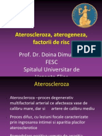 Ateroscleroza Aterogeneza Factorii de Risc